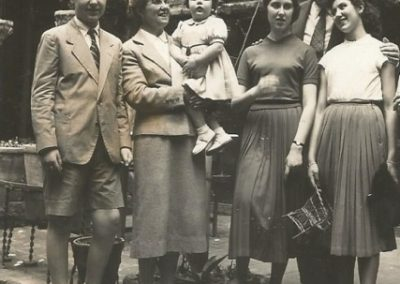 1956: My family when I was 12 years old