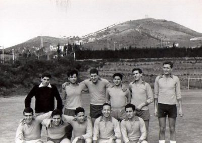 1962: Mathematics football team at the University (UB)