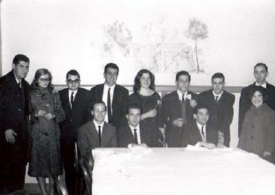 1965: Graduates in Mathematics at the UB