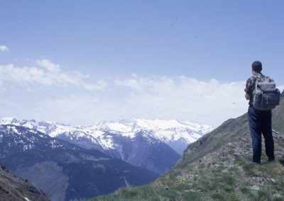 1967: The Maladeta massif from Pla de Beret