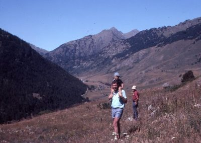 1979: Excursion near Montgarri