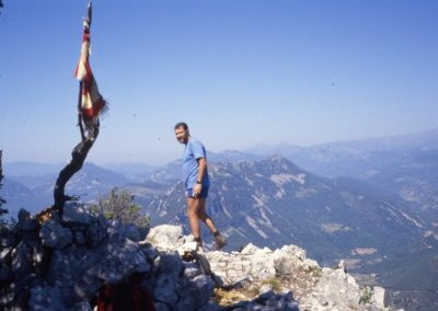 1986: At the top of the Bestracà