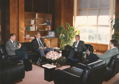 1994: With the principal of UAB and the president of IEC