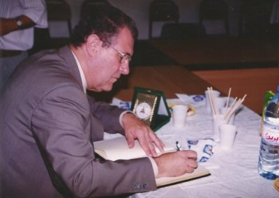 2001: Universitat de Tunis. Lliurament work station Sun, Math Quiz 2000