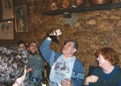 "2002: ""Calçotada"" of the CRM at Masies de Poblet"