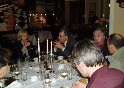 2003: Diner at a ERCOM meeting