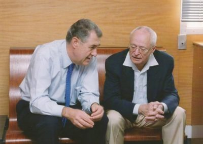 2004: With Jean-Pierre Serre, 20 year of CRM