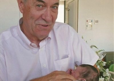 2010: At home with my grandson Marc